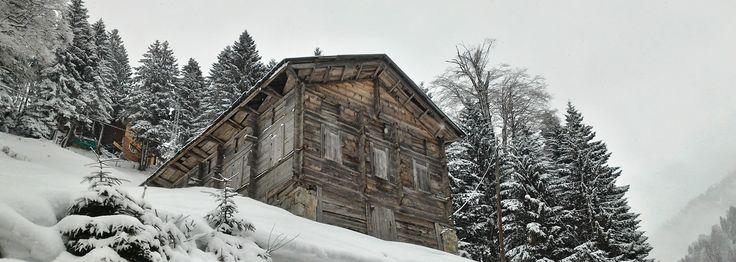 Ayder Yaylası Kar Manzarası