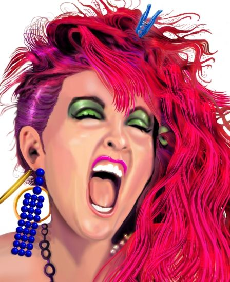 Sad Quotes About Depression: Cartoon, Cyndi Lauper And