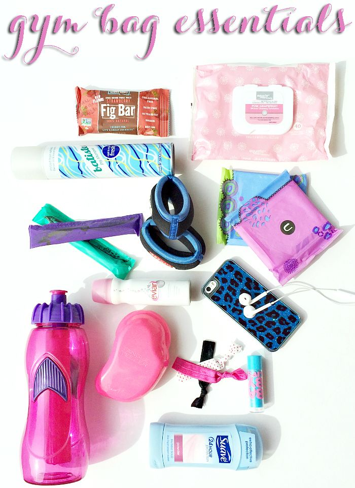 Never be unprepared! Make sure to pack all of these Gym Bag Essentials! #UbyKotex #PMedia #ad