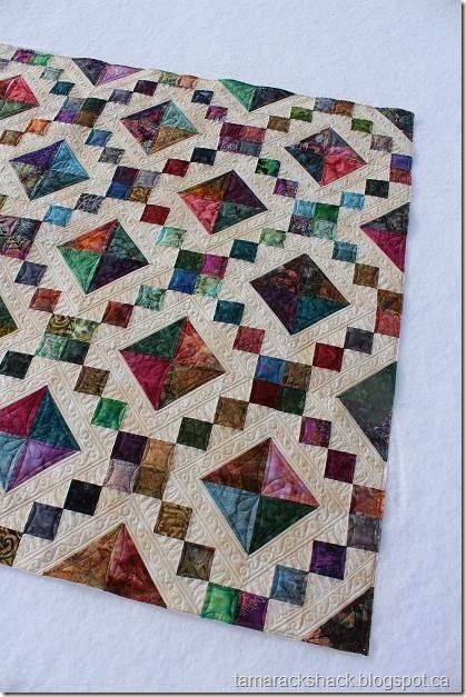 Jewel Box | Tamarack Shack - Longarm Quilting || Beautiful Quilt!