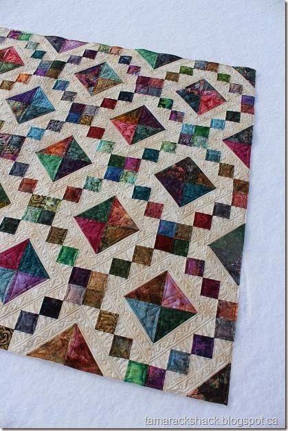 Jewel Box   Tamarack Shack - Longarm Quilting    Beautiful Quilt!