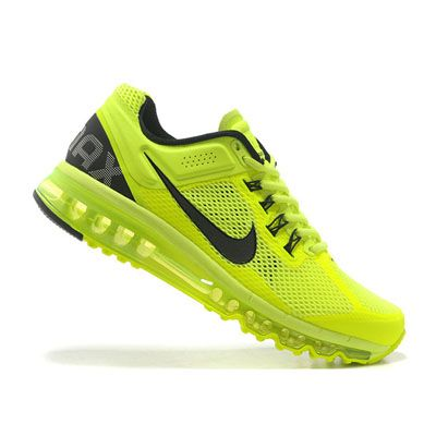 Nike Air Max 2013 Sarı Siyah Erkek Ayakkabı