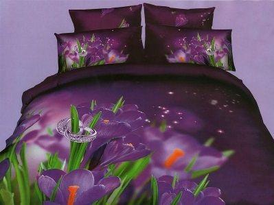 Pościel 3D kwiat Frezji. Dostępna w sklepie kasandra.com.pl