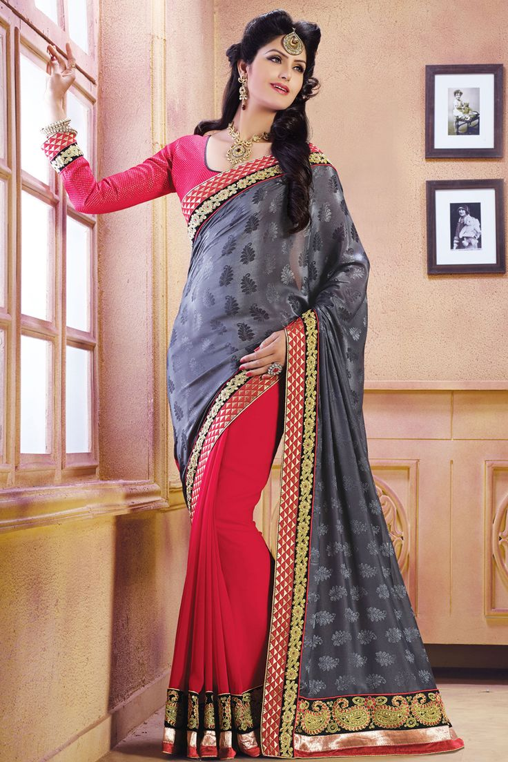 Blue Color Designer Party Wear Sarees From Easysarees.
