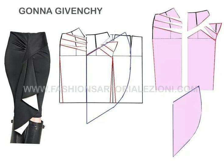 Sewing pattern/ skirt