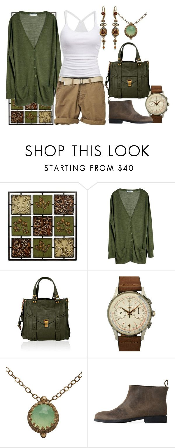 """""""Go Green"""" by mobaby22 ❤ liked on Polyvore featuring MÃ¥nestrÃ¥le, American Eagle Outfitters, H&M, Proenza Schouler, INC International Concepts, Becky Kelso, Kirra and Rachel Comey"""