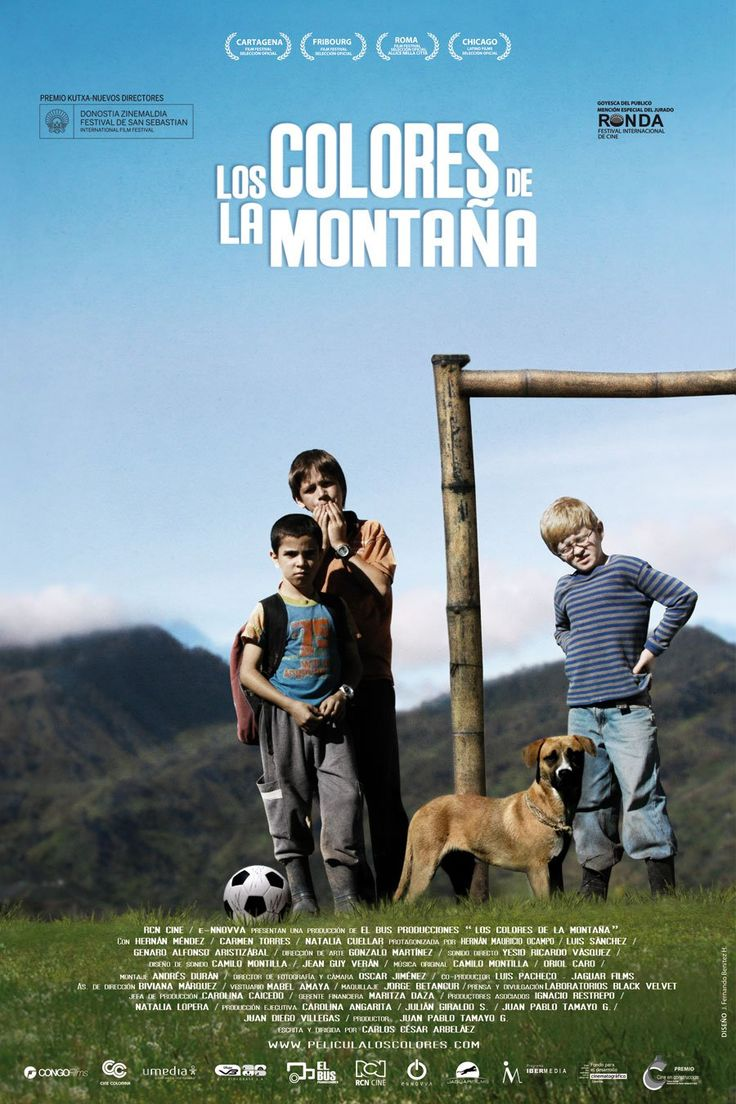 Los Colores de la Montaña Directed by Carlos César Arbeláez - Manuel, 9, has an old ball with which he plays football every day in the countryside. He dreams of becoming a great goalkeeper. His wishes seem set to come true when Ernest, his father, gives him a new ball. But an unexpected accident sends the ball flying into a minefield. Despite the danger, Manuel refuses to abandon his treasure...