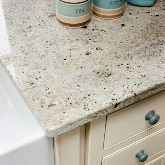 Kitchen Worktop Lighting: Neutral Units And Worktops To Keep The Kitchen As Light As