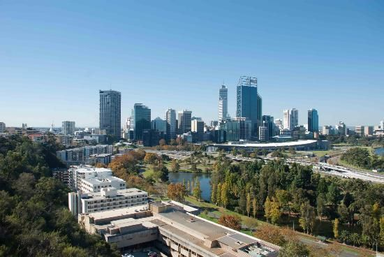 Fraser Avenue Lookout- The City of Perth