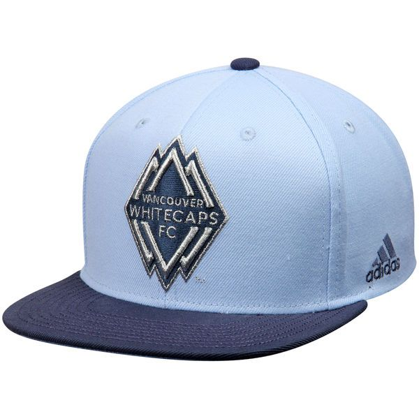 Vancouver Whitecaps FC adidas Jersey Hook Snapback Adjustable Hat - Light Blue/Navy - $25.99