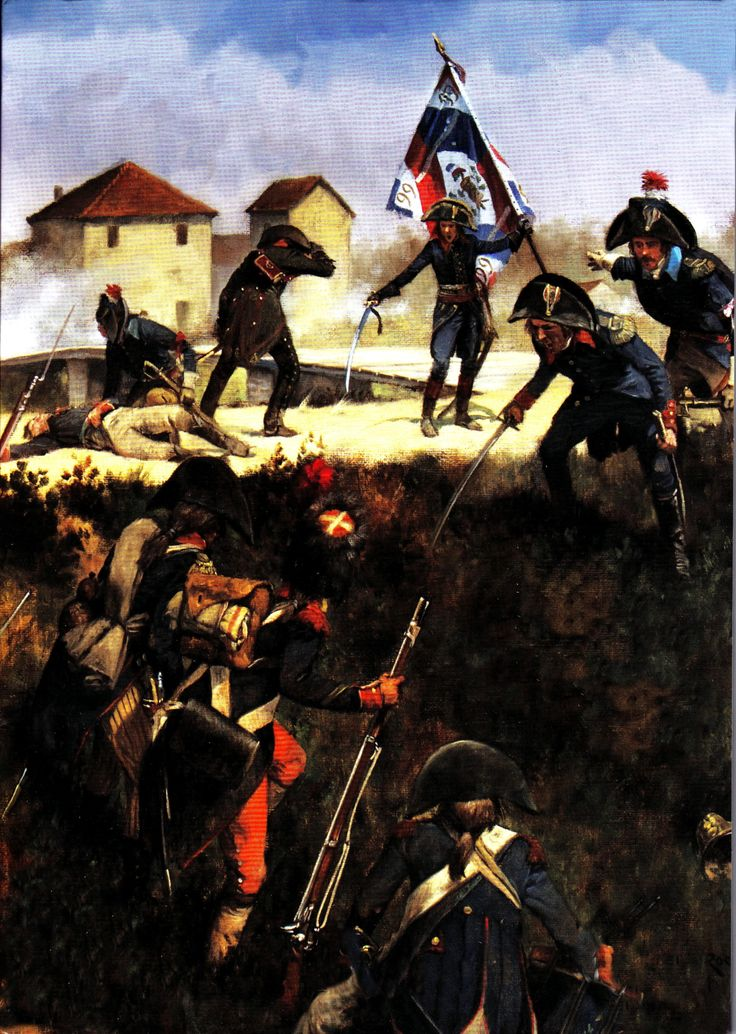Napoleon at Arcole- by Keith Rocco | Napoleonic War Art ...