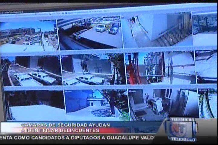 Cámaras De Seguridad Ayudan A Identificar Delincuentes #Video
