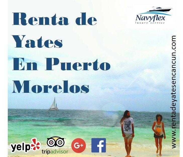 Renta de Yates Cancún, Playa del Carmen, Riviera Maya y Cozumel | Renta de Yates de Lujo en Puerto Morelos
