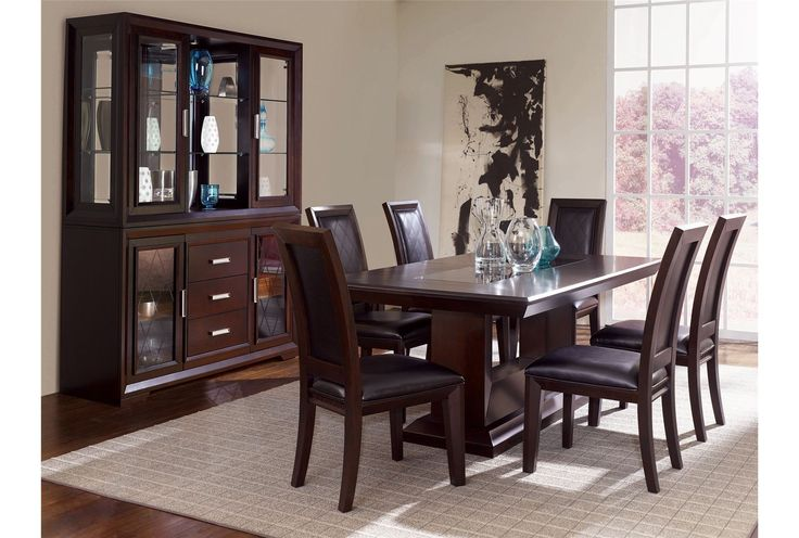Barcelona 7 Piece Dining Dining Room Table Set Dining Room Furniture Dining Room Sets