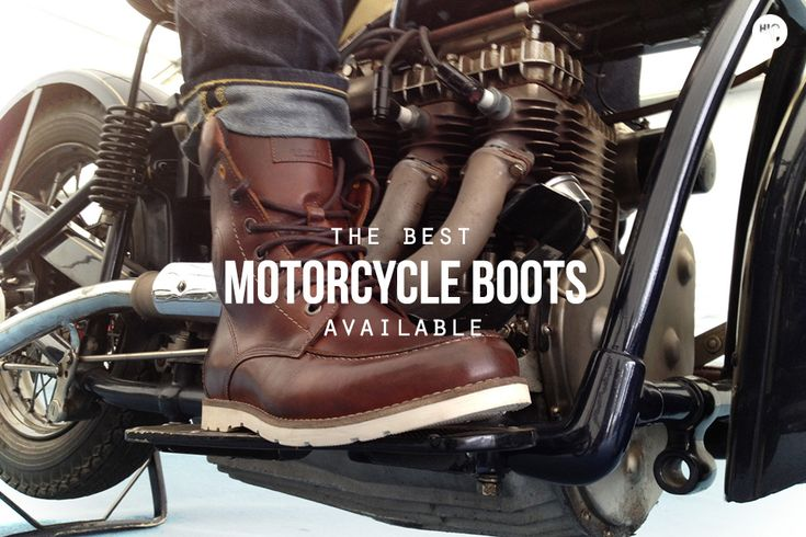 Riders on the Storm: The 6 Best Motorcycle Boots