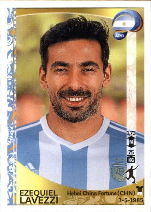 2016 Panini Copa America Centenario Stickers #322 Ezequiel Lavezzi - NM-MT