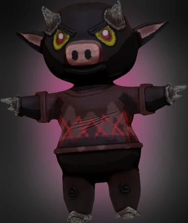 Devil Cow by ~SparkusThunderbolt on deviantART