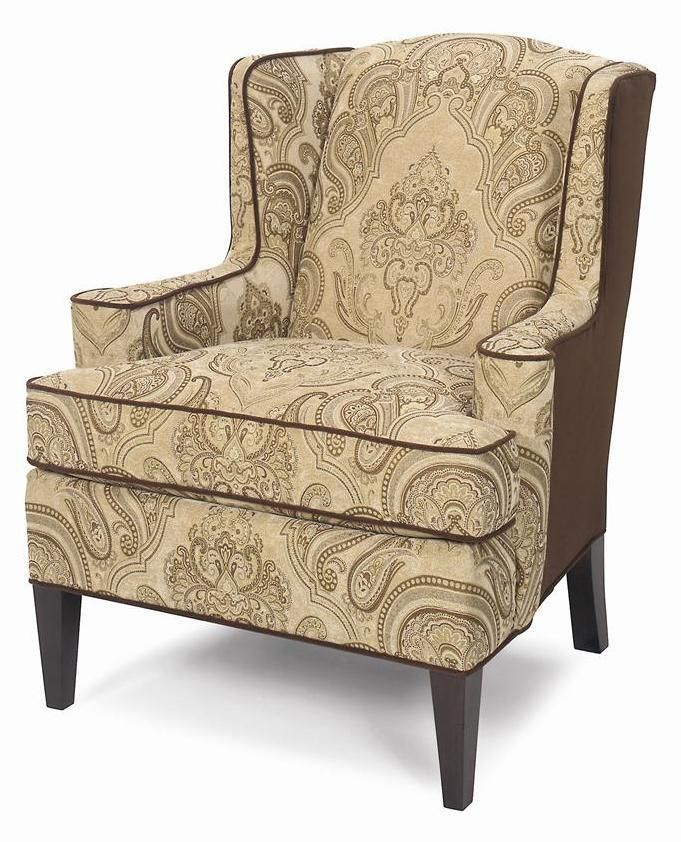 accent chairs upholstered wing chair by craftmaster