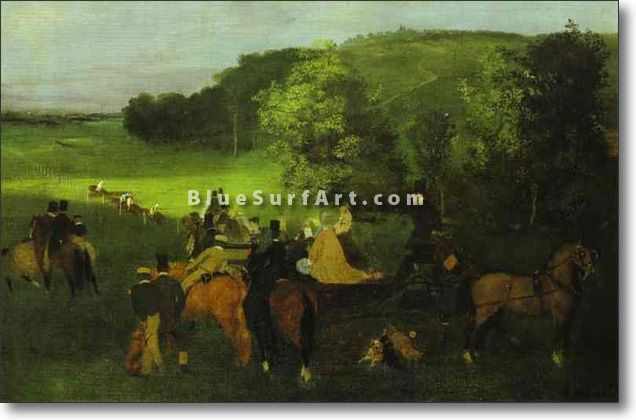 On the Racing Field - £124.99 : Canvas Art, Oil Painting Reproduction, Art Commission, Pop Art, Canvas Painting