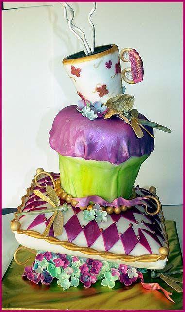 Yep, it's a cake..