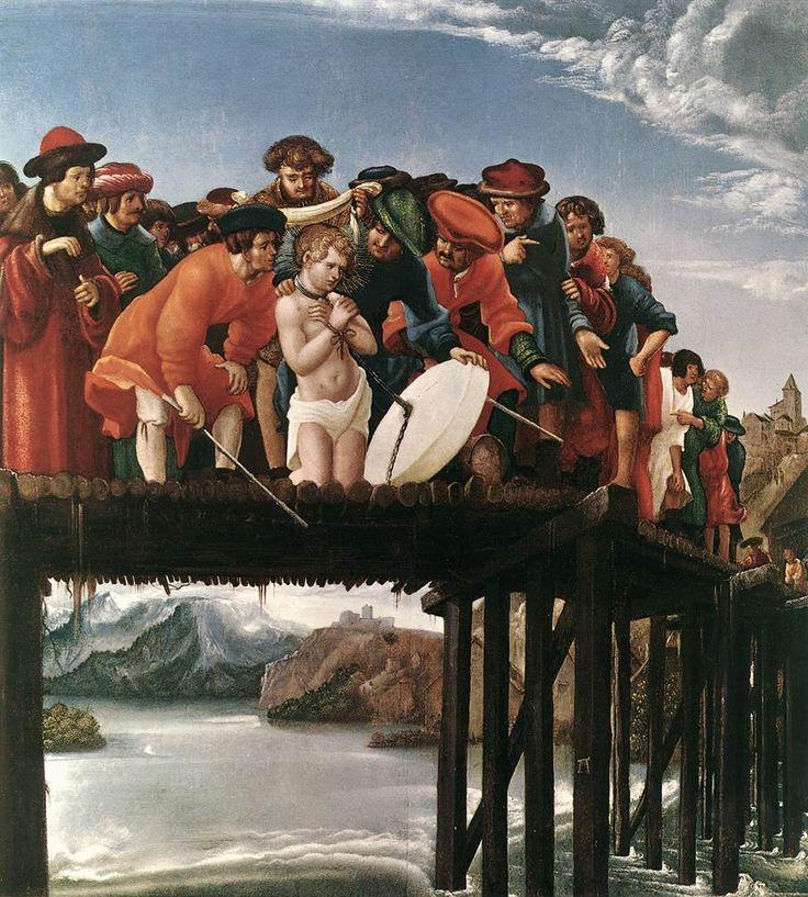martyrdom of st florian 1530 Altdorfer Albrecht