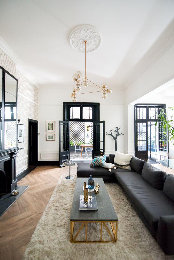 House Malherbe-Lan - Lounge interior Design