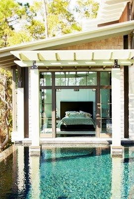 How cool would it be to just wake up, get out of bed, and jump into your pool?
