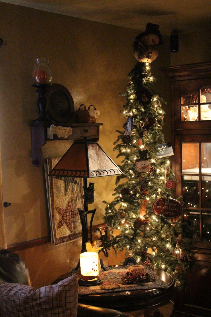 Primitive country christmas decorations - Primitive Christmas Tree