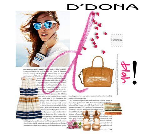 ¿Eres una chica D´Donna? Descubre todos nuestros bolsos en http://www.clenapal.com/ddona/springsummer/