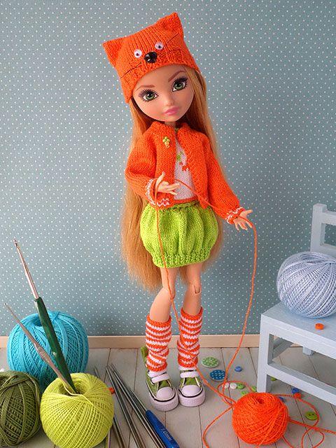 PlayDolls.ru - Играем в куклы :: Тема: Апельсиновая кошечка: Одежда для кукол. (38/40)