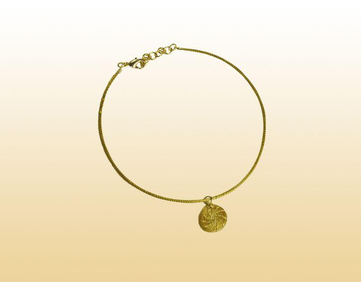 Tornozeleira Mini Mandala — Brasil Capim Dourado