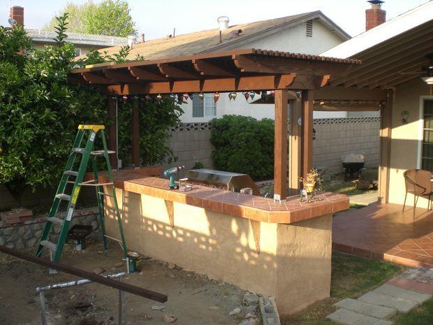 barbecue bbq island patio bar backyard bbq small backyards patio ideas