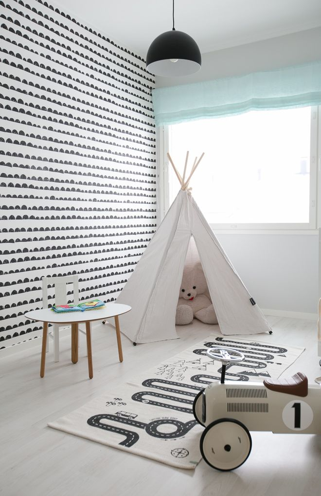 Ferm LIVING - half moon wallpaper