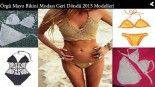 Örgü Mayo Bikini Modası Geri Döndü 2015 Modelleri
