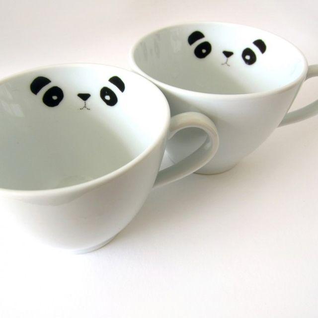 Stickers Panda porcelaine customiser sa vaiselle idee cadeau - La Fiancee du Panda blog mariage et lifestyle