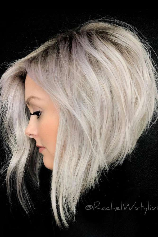 60 Ideen für gestapelte Bob-Frisuren, die Sie jetzt ausprobieren sollten