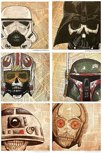 Skeleton Zombie Star Wars