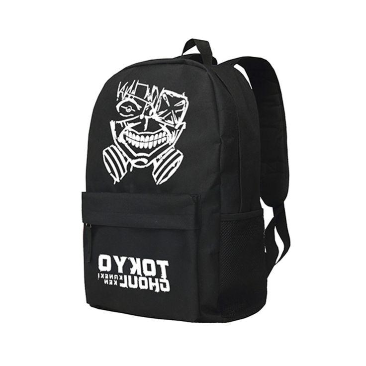 28.69$  Buy here - https://alitems.com/g/1e8d114494b01f4c715516525dc3e8/?i=5&ulp=https%3A%2F%2Fwww.aliexpress.com%2Fitem%2FOxford-Shoulder-Bags-Kaneki-Ken-Skull-Backpacks-Anime-Tokyo-Ghoul-School-Bags-for-Students%2F32727474576.html - Zshop Oxford Shoulder Bags Kaneki Ken Skull Backpacks Anime Tokyo Ghoul School Bags for Students
