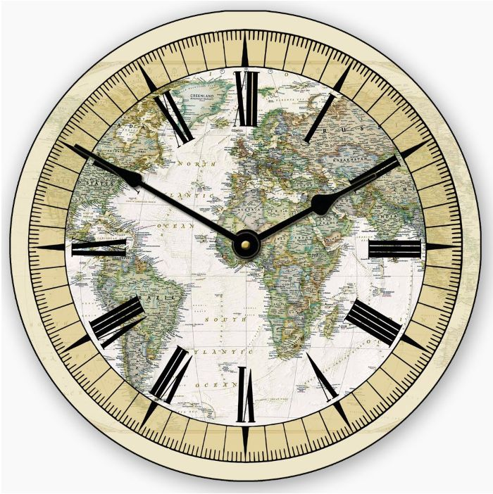 27 best world map clocks images on pinterest world maps wall the world map clock on the wall in your classrooms was your best friend world gumiabroncs Choice Image