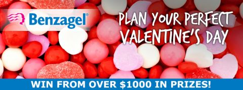 I just entered to win 1 of 25 prizes from @BenzagelCanada in the Plan Your Perfect Valentine's Day Contest!