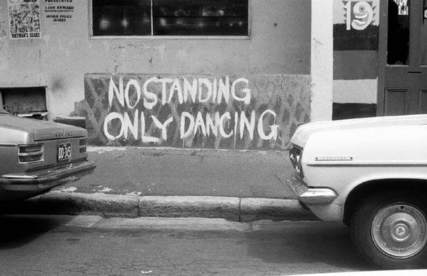 No Standing Only Dancing 1974. Photo by Rennie Ellis