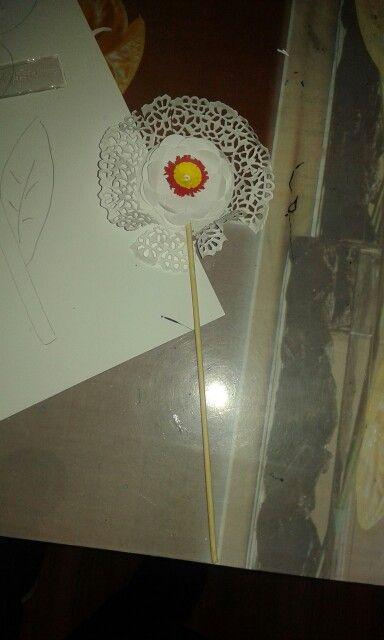 Paper flower. By herciu simona