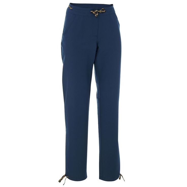 Pantalon Drumeție Arpenaz 50 Bleumarin Damă