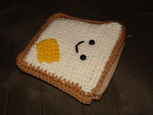 Mr Toastee Zip Pouch #2 | I learned a lot from the first one… | Flickr