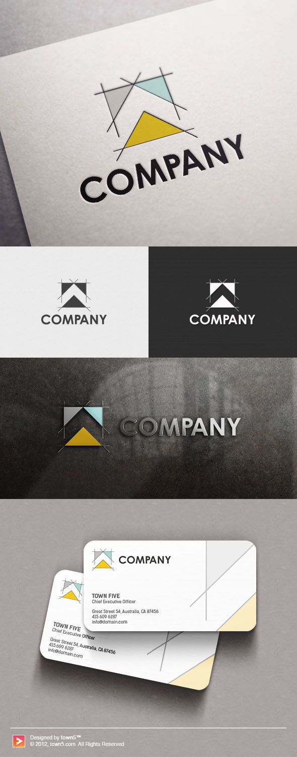 ARCHITECTURAL LOGO Choose a logo you love and we'll add your business name within 24 hours! Perfect for these industries: Architectural, Construction & Tools, Home Furnishings
