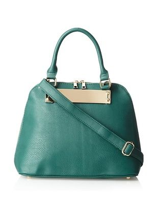 38% OFF Nila Anthony Women's Dome Satchel, Teal