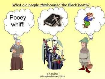 did people in the Middle Ages think caused the Black Death? Worksheet ...