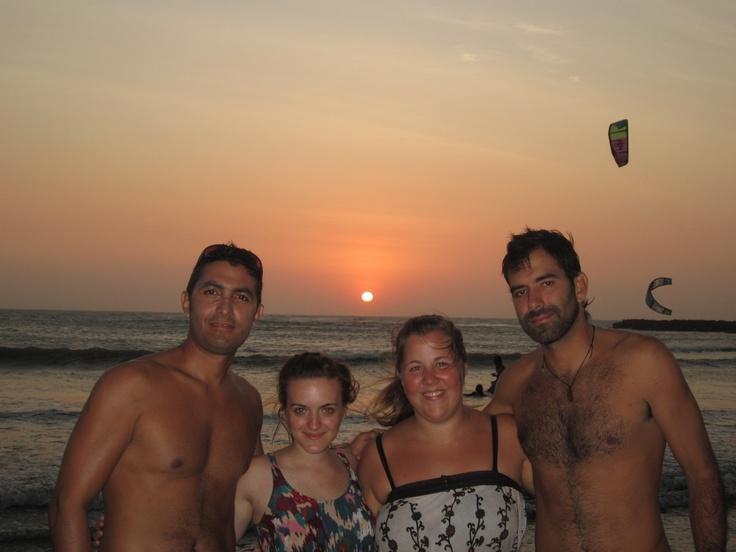 With Jessi (Argentina), Sanna (Sweden) and Juanca (local)