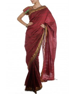Red Saree by ASB