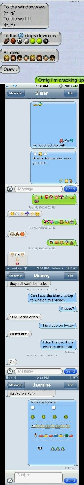 Top 10 Hilarious Emoji Conversations